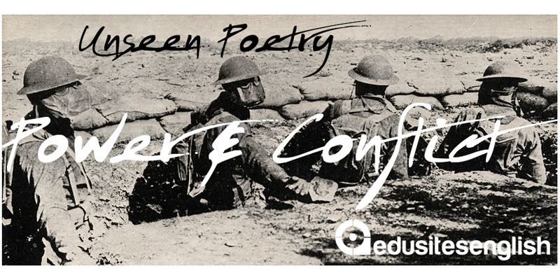 Unseen Poetry | Power and Conflict